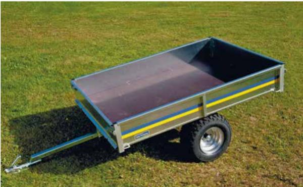YFM10072-1 Trädgårdsvagn med plyfa