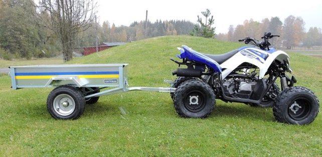 YFM50001 Trädgårdsvagn MINI med manuell tipp