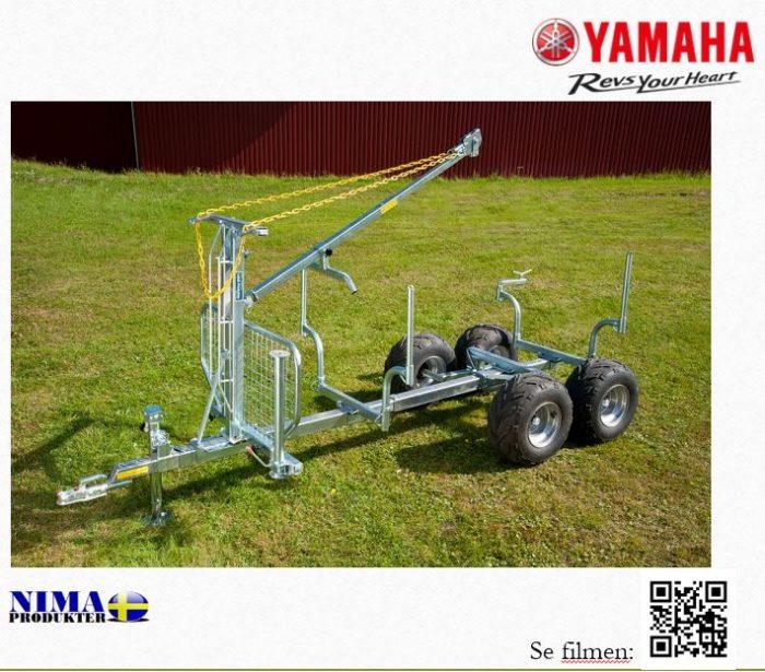 YFM20050KOMP1 Komplett timmervagn proffs