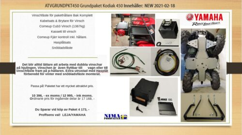 ATVGRUNDPKT 450 Grundpaket Kodiak 450