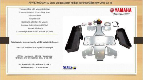 ATVPKTKODIAK450 Stora skogspaketet Kodiak 450