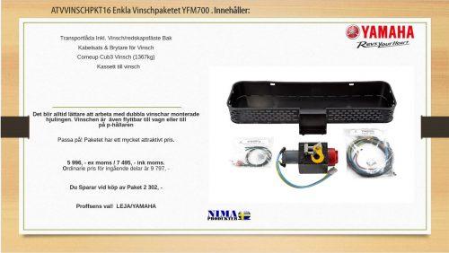 ATVVINSCHPKT16 Enkla Vinschpaketet YFM700
