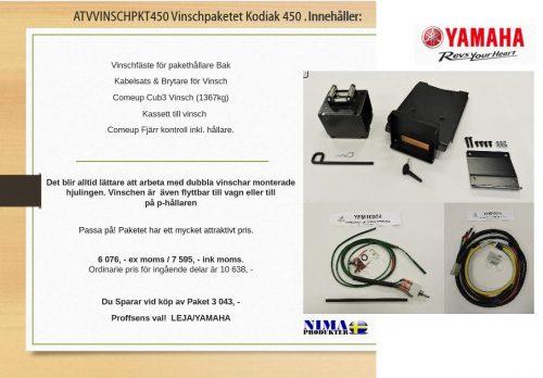 ATVVINSCHPKT450 Vinschpaket Kodiak 450