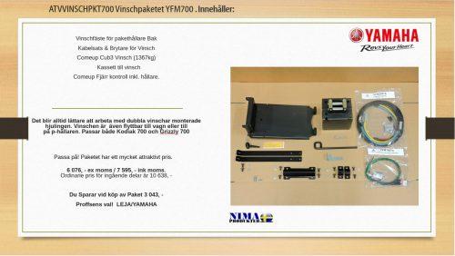 ATVVINSCHPKT700 Vinschpaket YFM700