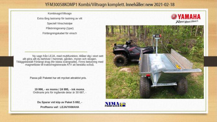 YFM30058KOMP1 Komplett kombi/viltvagn