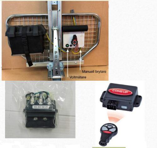 YFM20079 Extren batteribox inkl. fjärrstyrning