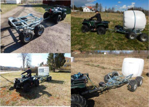YFM30070MULTI bal- & vattentanksvagn