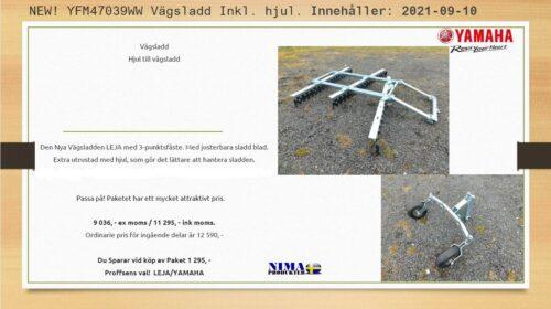 YFM47039WW Vägsladd Inkl. hjul_2021